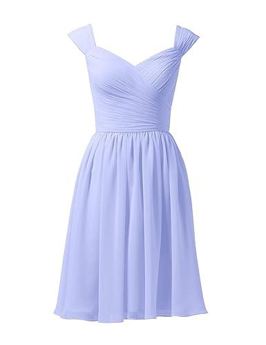 Alicepub -  Vestito  - linea ad a - Donna lavanda 48