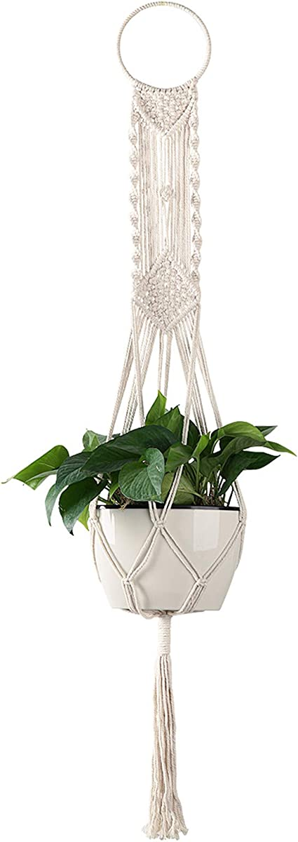 boho plant holder succulents planter modern macrame macrame plant hanger minimalistic macrame plant holder hygge decor hanging planter