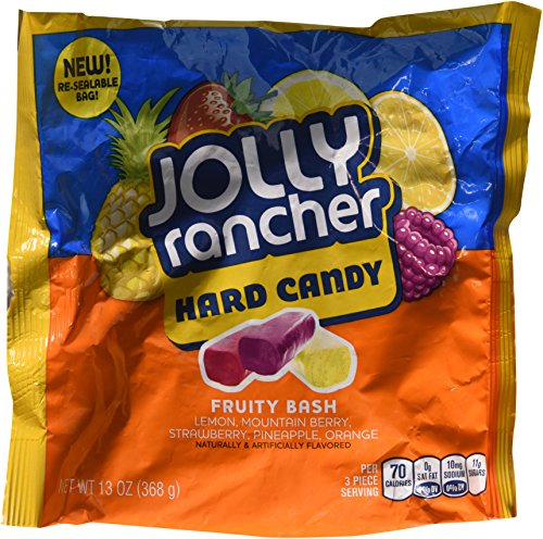 Hershey's Jolly Rancher Fruity Bash Hard Candy, 13 oz - Lemon Passion Fruit Fruit