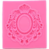 VWH Lace Frame Silicone Mold Fondant Mould Cake Decorating Tool Chocolate, Gumpaste Mold, Sugarcraft,Kitchen Gadget
