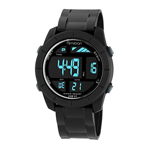 Armitron Sport Mens 40/8253BLK Digital Watch