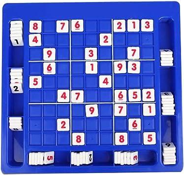 Rompecabezas Juguetes para niños tabla creativa Digital Juegos de mesa Individual de Ajedrez Juguetes Nueve Palace Sudoku juego clásico de los juguetes educativos para los niños 1set: Amazon.es: Juguetes y juegos
