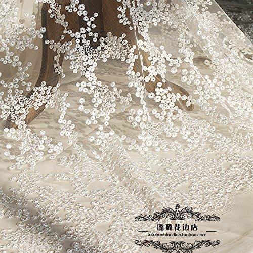 10 Yards Hochzeit Kleid Stickerei Lace Trim Kleidung Zubehör DIY Nähen