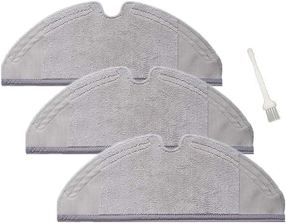 Sweet D Repuestos de Dry/Wet Mopa Paños para Xiaomi MI Robot 2 ...