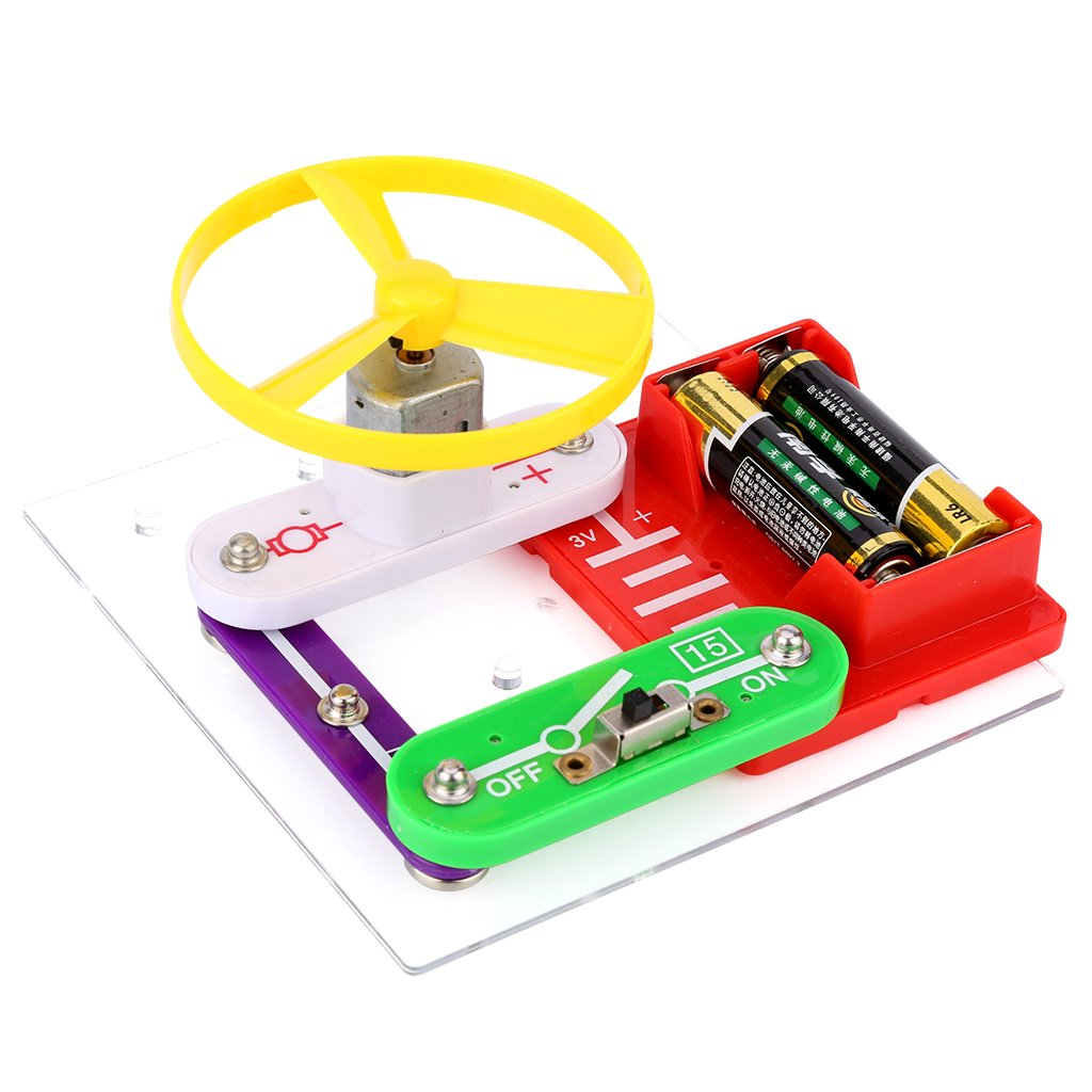 Virhuck W 35 Projects Electronics Discovery Kit Amazoncom Snap Circuits Sound Toys Diy Building Blocks Electric Circuit Toy For Children Christmas Gifts Games