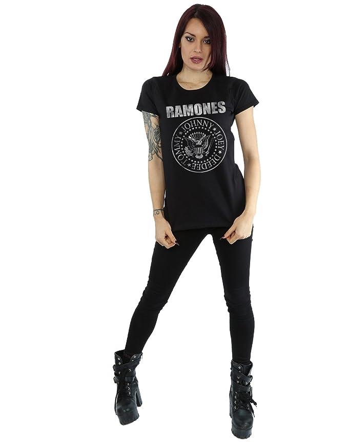 bb93553797af9 Ramones mujer Distressed Seal Camiseta  Amazon.es  Ropa y accesorios