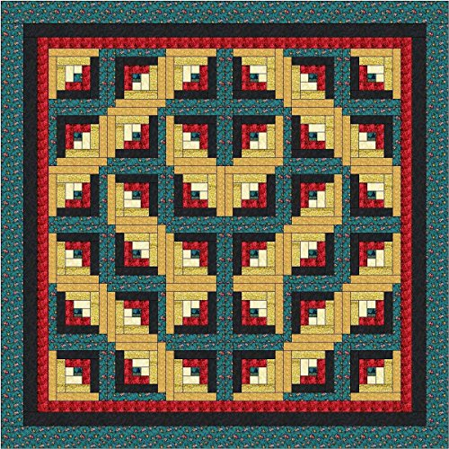 Quilt Kit Wildflower Thistle/Full Size/Pre Cut Ready To ()