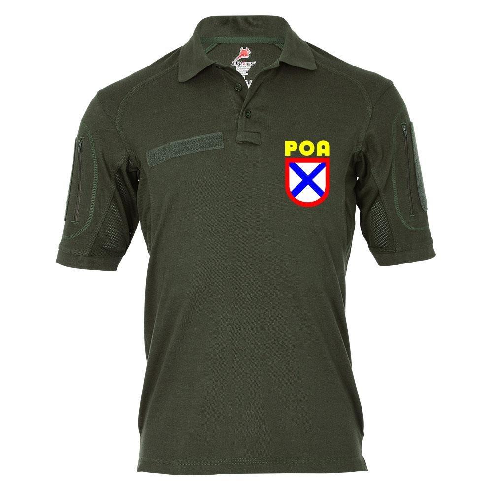 Tactical Poloshirt Alfa - POA Russische Befreiungsarmee Wlassow ROA Armee  19371