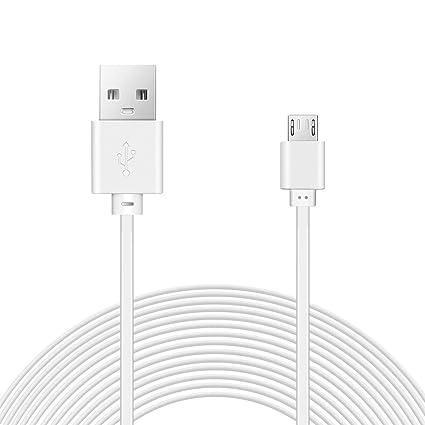 Cable Micro USB,Cable de Extensión de Alimentación LANMU para Wyze Cam Pan, Cámara