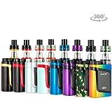 Original Smok al85 Kit Alien Baby 2mL 85 W TC tfv8 Kit Couleur Arc-en-ciel Noir Sans Tabac Ni Nicotine E-Cigarette Avec bande de stylo vapeur