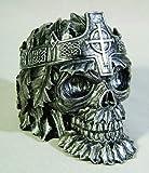 Greenman King Skull Ashtray