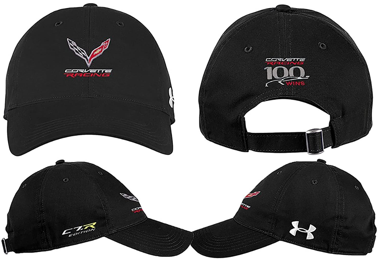 35452abe35d9b ... norway r corvette racing under armour hat black at amazon mens clothing  store 2cf34 d3151