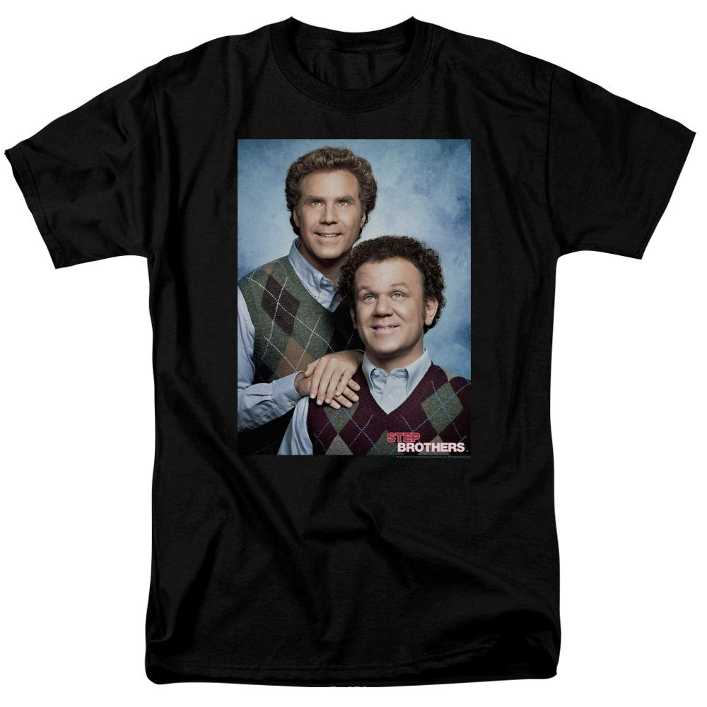 Step Brothers T Shirt Portrait Tee 6100