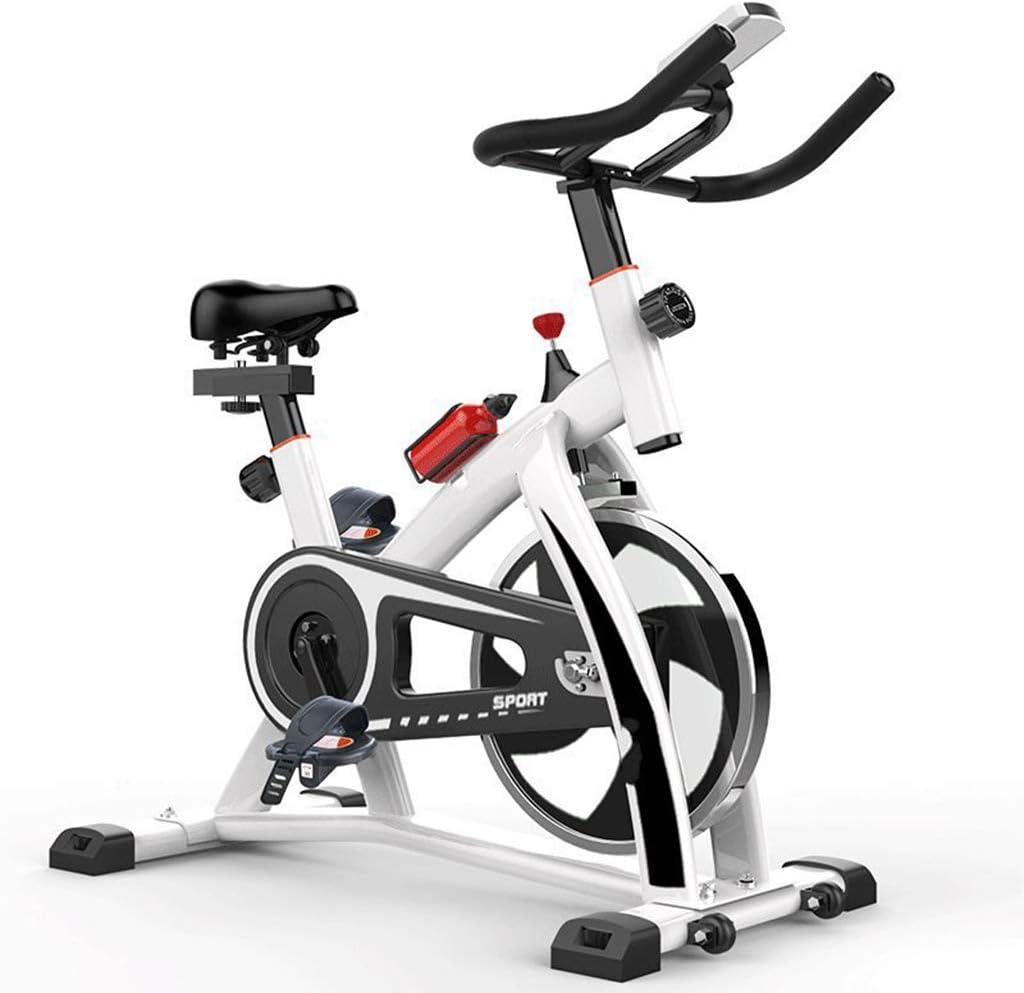 Ejercicio bicicleta de spinning Formación cubierta casa en ...