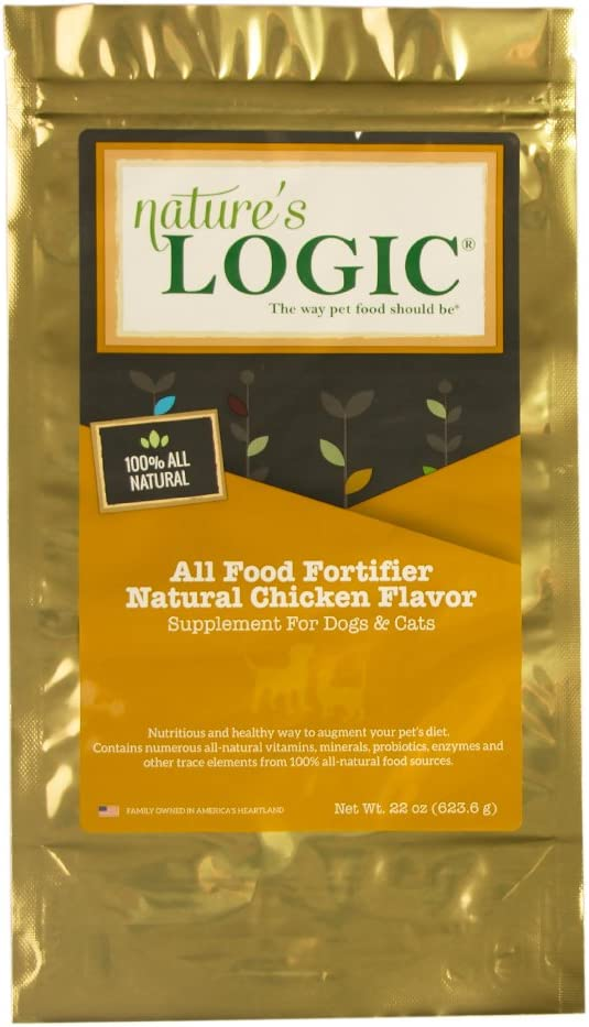 Nature'S Logic All Food Fortifier Natural Chicken Flavor, 22Oz