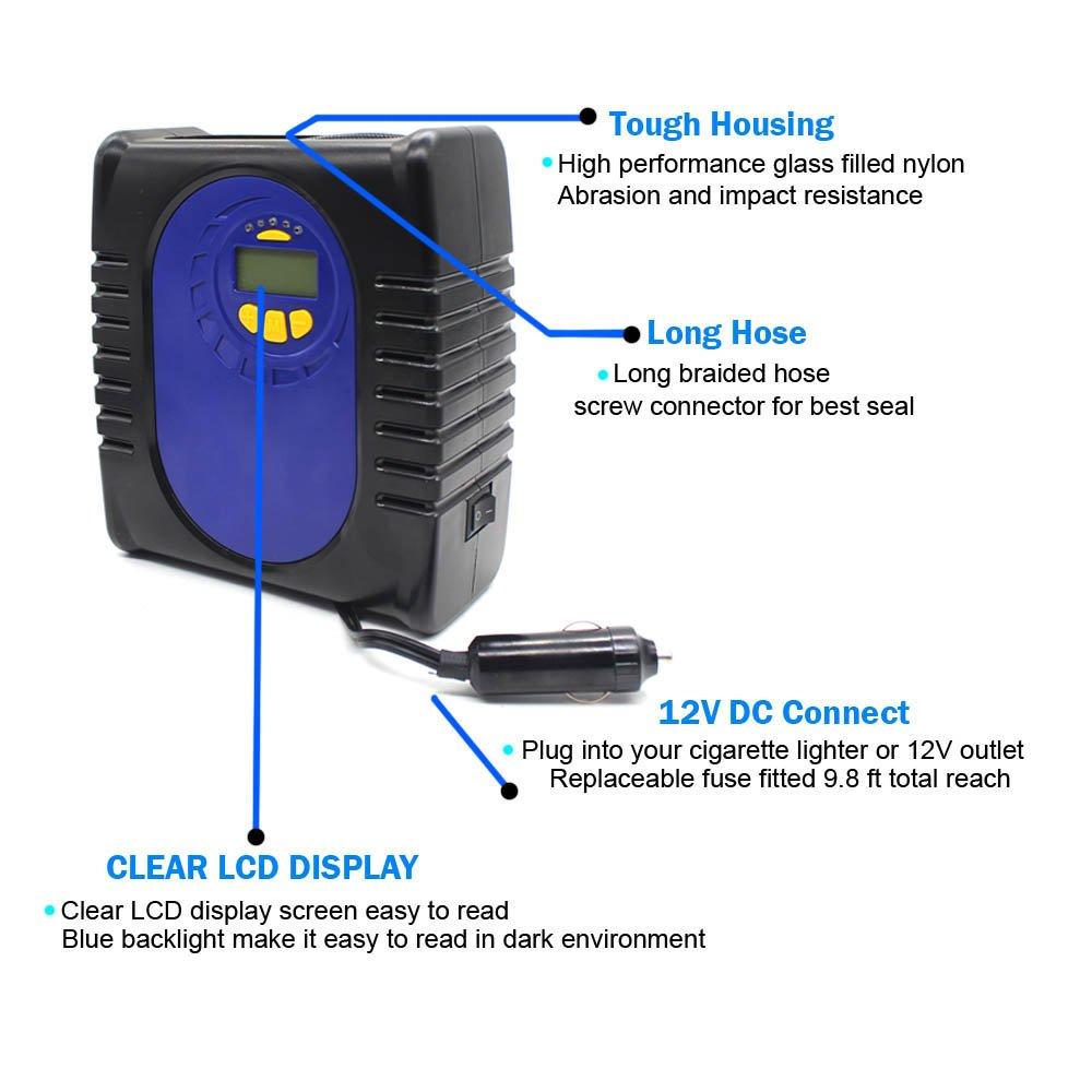 3. Grandtau Portable Mini Air Compressor - Best Mini Air Compressor