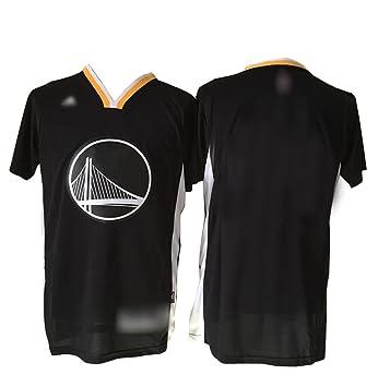 Golden State Warriors Blank personalizada Negro Hombre Camiseta Talla XL