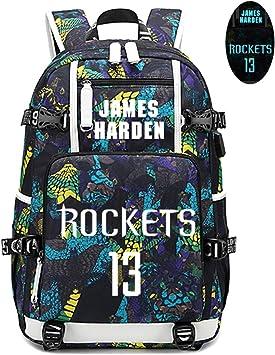 Lorhs store Jugador de Baloncesto James Harden Mochila Luminosa ...