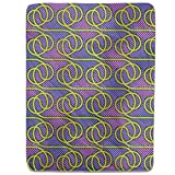 Tube Dance Fitted Sheet: Queen Luxury Microfiber, Soft, Breathable