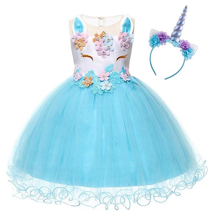 Disfraz Halloween Princesa Bebé únicornio Infantil Niña ...