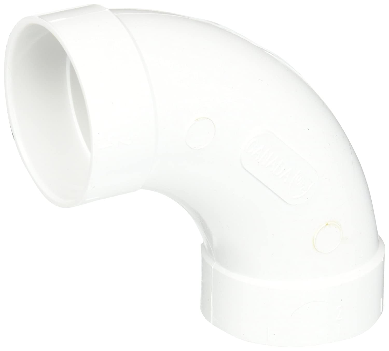 Airvac VM103/5510 90-Degree Sweep PVC Fitting