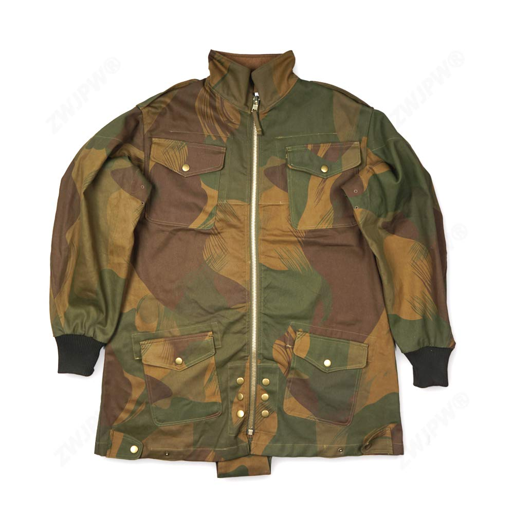 zwjpw WW2 UK Army Officer British 1ST Paratroopers Pattern Denison CAMO Smock