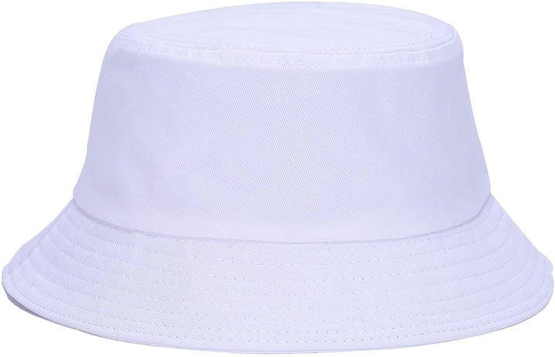 Hats for for Women Unisex Bucket Hat Men Flat Solid Color DIY Bob Sun Hat Visor Summer Autumn