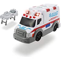Dickie-Ambulancia Action Series 15cm 3302004 (+3 años) Vehículo