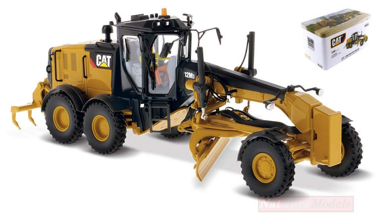 orden en línea NEW DIECAST Master DM85519 Cat 12M3 Motor Grader Grader Grader 1:50 MODELLINO Die Cast Model  Con 100% de calidad y servicio de% 100.