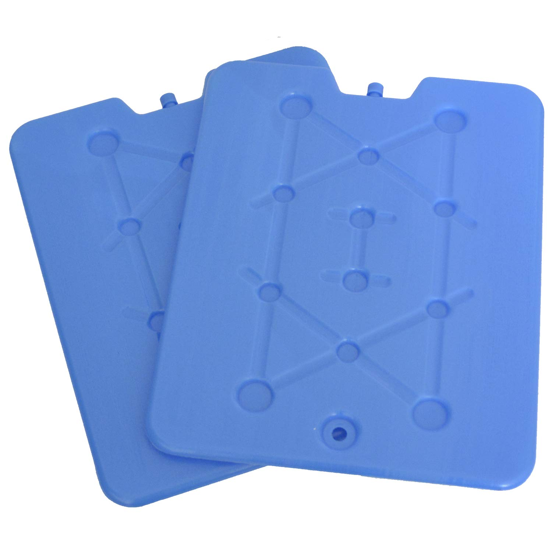 K/ühlakkus f/ür K/ühltasche Kuhlakku Platte extra Flach und Gro/ß Freezeboard K/ühlelemente