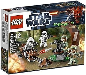 LEGO Star Wars - Endor Rebel Trooper & Imperial Trooper Battle ...