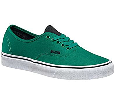 a702574920612f Vans Authentic Canvas Ultramarine Green 4.5 Mens 6 Womens  Amazon.co ...