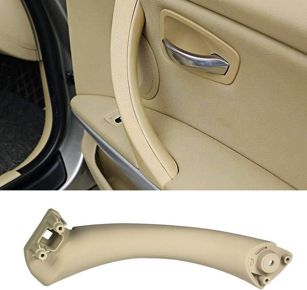 znwiem Car Interior Door Handle for BMW 3 series E90 E91 316 318 320 325 328 330 I7T8 Outer Pull Trim Cover