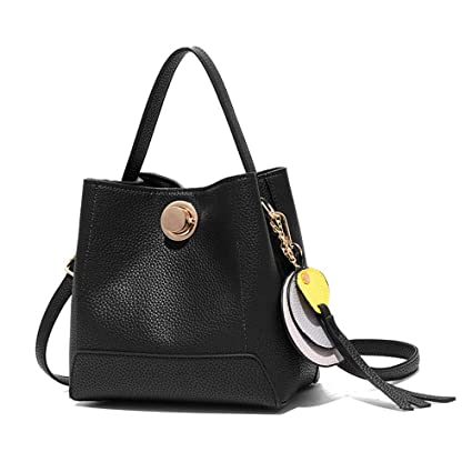 651794bf3e19 XMYL Solid Color Ms Handbag PU Leather Crossbody Bag Fashion Retro Shoulder  Bags 211121cm