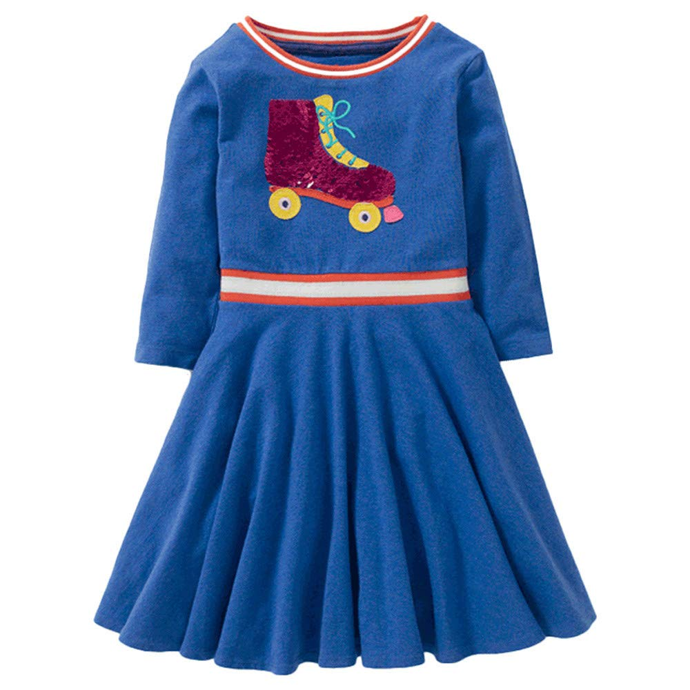 Lollyeca Baby Clothes Sets PANTS ベビーガールズ 9T(7-9Years old) ダークブルー B07J1R7C3B