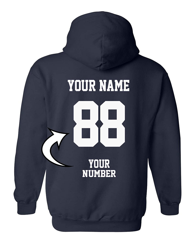 Design Your OWN Hoodie - Custom Jersey Hoodies - Pullover Team Sweatshirts
