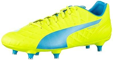 sale retailer 8ec38 6cd6d Puma Evospeed 4.4 SG, Chaussures de Football Homme, Jaune-Gelb (Safety  Yellow
