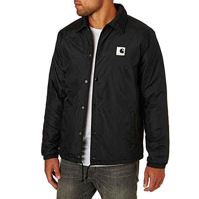 factory outlets ever popular low cost Carhartt Jackets Carhartt Sports Pile Coach J... - Black ...