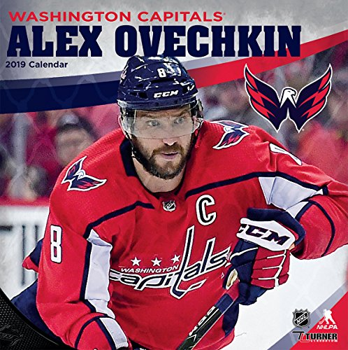Turner 1 Sport Washington Capitals Alex Ovechkin 2019 12X12 Player Wall Calendar Office Wall Calendar (19998012000)