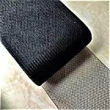 5'' inch width Polyester Black Horsehair Braid, selling per Roll/22 Yards