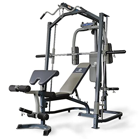 Marcy Smith machine MP3100, Rack de musculación multifunción ...