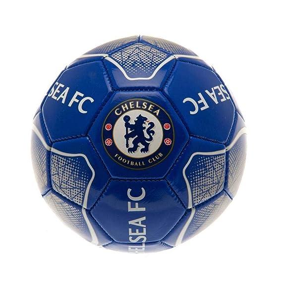 Chelsea FC - Balón mini con diseño geométrico (Talla 1) (Azul ...