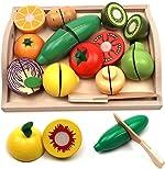 Take Me Away Wooden Cutting Fruit Vegetables Set for Kids -