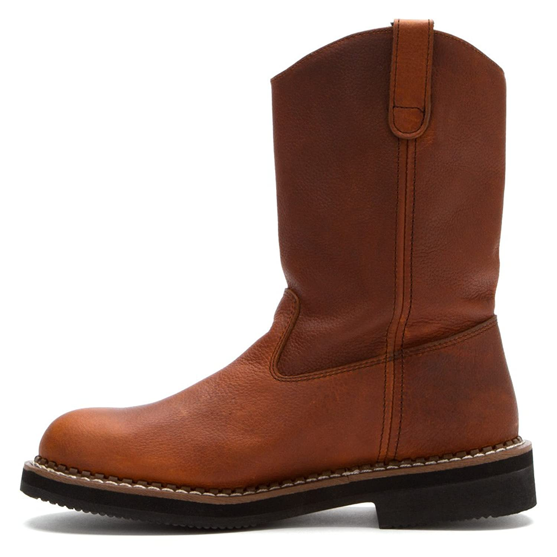 Amazon.com | Georgia G4254 Men's Waterproof Wellington Pull-On Work Boot |  Industrial & Construction Boots