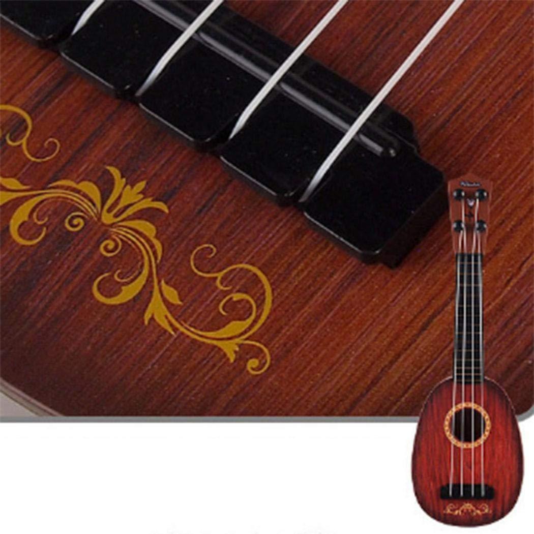 mymotto Durable Multifuncional Lindo beb/é Ukelele Juguete Musical Juguete de educaci/ón temprana Botes