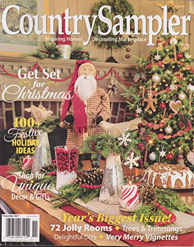Country Sampler Magazine November 2017 -