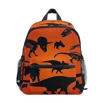 COOSUN Dinosaurio Silueta Kinder Kids Mini Mochila preescolar bolsa del niño Multicolor: Amazon.es: Equipaje