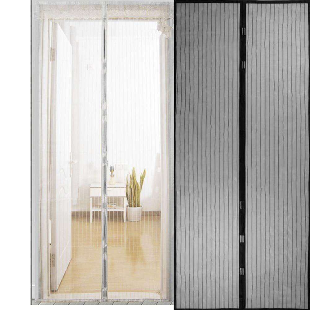 zanzariera a rete magnetica chiusura automatica Tenda anti-zanzare 80 x 210cm bianco tenda da cucina