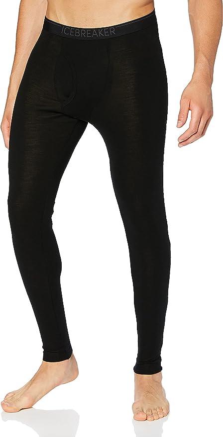 Brubeck Bodyguard Merino Wool Mens Leggings XL Black