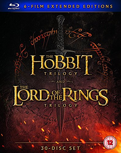 Middle Earth - Six Film Collection Extended Edition [Blu-Ray] [2016] by eOne Films Distribution, New Line Home Video